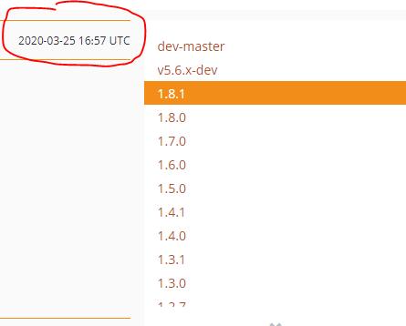 Atualização do pacote de integração mercadopago PHP